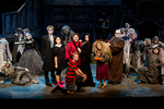 The Addams Family Production Photo by Providence College and Gabrielle Marks