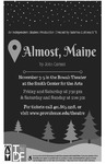 Almost, Maine Playbill by Providence College