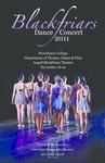 Blackfriars Dance Concert 2011 Poster