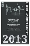 Blackfriars Dance Concert 2013 Playbill by Providence College
