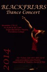 Blackfriars Dance Concert 2014 Poster by Providence College