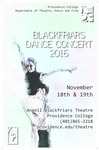 Blackfriars Dance Concert 2016 Poster by Providence College and Laura Rostkowski