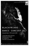 Blackfriars Dance Concert 2017 Playbill by Providence College
