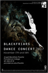 Blackfriars Dance Concert 2017 Poster by Providence College