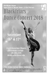 Blackfriars Dance Concert 2018 Playbill by Providence College