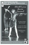 Blackfriars Dance Concert 2019 Playbill by Providence College
