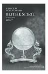 Blithe Spirit Playbill