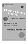 Creative Writer's Festival 2015 Playbill