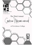 Creative Writer's Festival 2016 Poster by Providence College