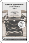 Creative Writer's Festival 2018 Playbill by Providence College