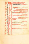 Explicit breviarium ordinem Sancti Dominici (Explicit accounting of the order of St. Dominic) - Register 2