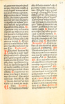 Explicit breviarium ordinem Sancti Dominici (Explicit accounting of the order of St. Dominic) - Page 127