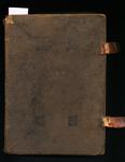 Missale juxta ritum Sacri Ordinis FF. Praedicatorum (Missal according to the rite of the Order of the Sacred FF. Preachers) - Cover