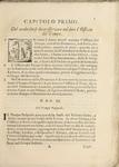 Rubiche Generali (General Rubrics for the Recitation of the Office according to the Rite of the Order of Preachers) - Capitolo Primo