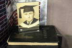 Photo Of Edward Banahan And Providence College Yearbook From 1938 by Providence College Special & Archival Collections