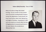 Robert (Bob) Donnelly, Class Of 1968 by Providence College Special & Archival Collections
