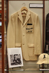 Exhibit Case Including Friars Club Hat And Jacket by Providence College Special & Archival Collections