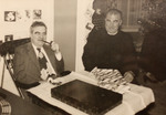 Father Charles V.F. Fennell, O.P (Right) And His Brother William Fennell (Left) by Providence College Special & Archival Collections