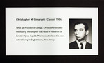 Christopher M. Cimarusti, Class Of 1964 by Providence College Special & Archival Collections