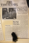 The Cowl: College Confers LL.D. On Master General Of Dominican Order by Providence College Special & Archival Collections
