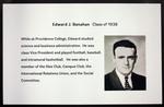 Edward J. Banahan, Class Of 1938