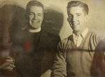 Photo Of Father Pierre H. Conway, O.P. And John J. Wilkinson, Class Of 1963 by Providence College Special & Archival Collections
