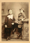 Father Charles V.F. Fennell, O.P (Left) And His Brother William Fennell (Right) As Children