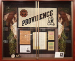 Centennial Exhibit Foyer Case - Photo 2 by Providence College Special & Archival Collections