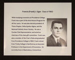 Francis (Frank) J. Egan, Class Of 1963