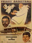 Providence College Vs. DePaul Basketball Program by Providence College Special & Archival Collections