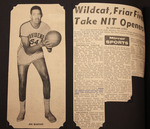 Mirror Article: Wildcat, Friar Fives Take NIT Openers by Leonard Lewin