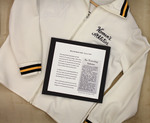 Mary Elizabeth Cahill, Class Of 1977, And Her Women's Athletics Jacket by Providence College Special & Archival Collections