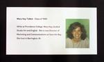 Mary Kay Talbot, Class Of 1985