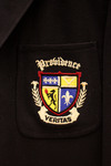Joseph T. Krzys, Class Of 1964 - Friars Club Blazer (Black) Pocket Detail by Providence College Special & Archival Collections