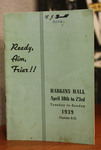 Ready, Aim, Friar!! Program by Providence College Special & Archival Collections