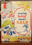 Winter Festival And Penny Sale Program