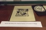 Seal For The Priory Of St. Thomas Aquinas At Providence College by Providence College Special and Archival Collections