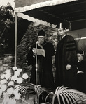 Andrew J. Bell, III Receiving Honorary Doctorate Of Humanitarian Service Degree by Providence College Special & Archival Collections