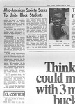 Cowl Article: Afro-American Society Seeks To Unite Black Students by Providence College Special & Archival Collections