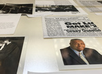 Civil Rights At PC Exhibit Case - Photo 4 by Providence College Special & Archival Collections