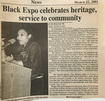 Cowl Article: Black Expo Celebrates Heritage, Service To Community by Joe Creamer