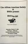 Black Expo 2001 Flyer