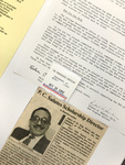 Civil Rights At PC Exhibit Case - Photo 6 by Providence College Special & Archival Collections
