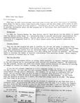 Letter From Dr. Robert Hamlin About The Martin Luther King Program by Robert H. Hamlin