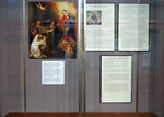 Pillars of the Dominican Order: St. Dominic De Guzman & St. Thomas Aquinas Exhibit Case - Photo 1 by Providence College Special & Archival Collections