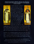 Pillars of the Dominican Order: St. Dominic De Guzman & St. Thomas Aquinas: Announcment by Providence College Special & Archival Collections