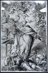 St. Thomas Aquinas Overcoming Heresy (Reproduction) by Gaspar de Crayer (1582-1669)