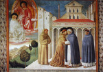 Vision of St. Dominic and Meeting of St. Francis and St. Dominic (Reproduction)