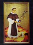 Saint Martin de Porres (Reproduction) by Meltem Aktas