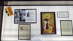 St. Martin De Porres: The New World's First Dominican Saint Glass Case - Photo 1 by Providence College Special & Archival Collections